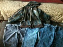 Boys Jeans and Fleece Hoodie in Fort Campbell, Kentucky