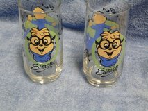Collectible 1985 SIMON FROM ALVIN AND THE CHIPMUNKS CARTOON GLASS in Alamogordo, New Mexico