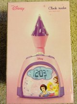Disney Princess Clock Radio with Night Light in Joliet, Illinois