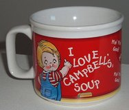 Rare Houston Harvest I Love Campbell's Soup M'm! M'm! Good! Mug in Morris, Illinois