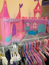 Little People princess castle in Joliet, Illinois