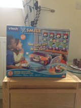Orange VTech VSmile Console with BN Cars Game in Cambridge, UK