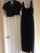 Black 2 piece evening gown in Temecula, California