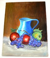 Original Oil Painting Still Life in Ramstein, Germany