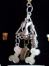 Charm Necklace-Cat, Dog, Chearleadin', Wine in 29 Palms, California