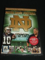 A Season Inside Notre Dame Football DVD NEW in Glendale Heights, Illinois