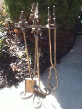 Iron / Gold / Fireplace Tool Set in Fort Campbell, Kentucky