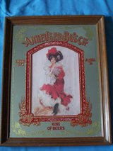 Anhueser Busch - Red Dress Bud Girl - Bar Mirror in Lockport, Illinois