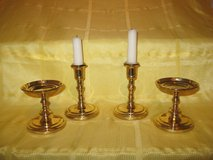 Partylite 4-Piece Brass Candle Holder Set in Spangdahlem, Germany