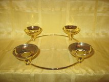 "Partylite ""Century"" Brass Candle Holder in Spangdahlem, Germany"