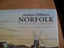 Andrew Dibben's Norfolk Watercolour Landscapes in Lakenheath, UK